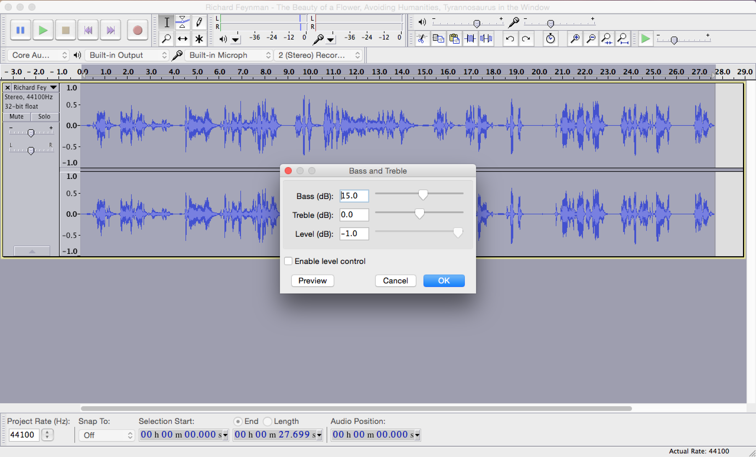 Making Robot and Alien Sound Effects in Audacity | Composing Digital